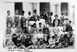 Little Lake School class, 1920-1921