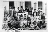 Little Lake School class, 1920-1921