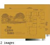 [New Cordova Homes, La Familia, plan 3 floor plan and exterior renderings brochure].