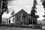 Murray School exterior - front view (1946), photograph