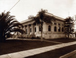 South Pasadena Public Library about 1917, Looking Southeast