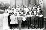 Little Lake School class