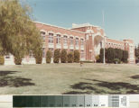 Front View of San Mateo High School - taken from the lawn