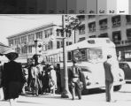 Bus at 19th Street and Chester Avenue