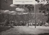 View from athletic field toward north, 1950