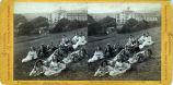 Eadweard Muybridge stereoscopic photograph of students