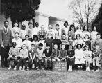 1963 class photograph of the Central Elementary School in Banning, California