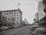 R. Lutes photograph of Fourth Street, Santa Ana