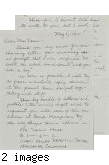 Letter from Paul H. Kusuda to [Afton] Nance, 1942, May 5