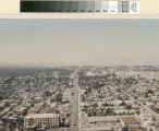 1970s Aerial View looking up El Camino Real