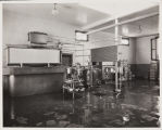 The inside of the Armstrong Dairy, June 1937.