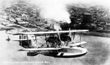PN-9 in flight over San Diego before the trans-Pacific flight of Commander John Rodgers, 1925