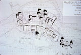 Master Plan of California State College at Hayward campus architectural drawing