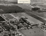 Aerial View of Citrus Union High School and Junior College, 1959