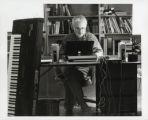 Photograph of John Adams, composer