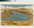 [Lake Mission Viejo architectural drawing photograph].