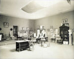 Photograph by Taber of art studio at Mills College
