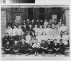 Fourth and fifth grade classes, Old Edgemont Grammar School, June 1914