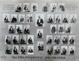 Photograph of the First Symphony Orchestra in Los Angeles