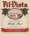 Filippi Winery wine label - Vista