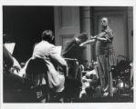 Photograph of Pierre Boulez, composer/conductor
