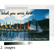 [The California promise, live it in Mission Viejo postcard].