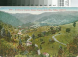 Looking Up Congress Springs Canyon Postcard