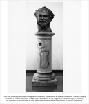 """Statue by Robert Arneson, """"The Head is Mined"""""""