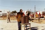 Library Director John Perkins, Inglewood Main Library groundbreaking ceremony