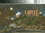 Postcard of Lick Observatory by Moonlight