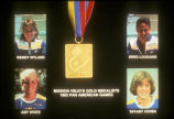[Mission Viejo's Gold Medalists, 1983 Pan American Games slide].