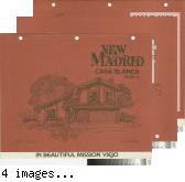 [New Madrid, Casa Blanca, plan 75 floor plan and exterior renderings brochure].