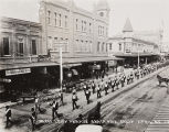 B.F. Conaway photograph of IOOF 72nd anniversary parade