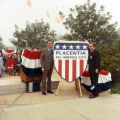 Photograph of ceremony marking Placentia as All America City