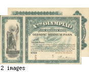 Stadium Pass, Games of the X Olympiad, Los Angeles