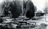Large Fountain in the Nimock's garden