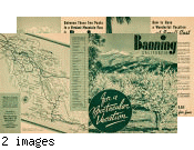 Banning Chamber of Commerce brochure promoting Banning, California