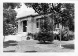 Upland Photograph Public Services; Upland Public Library (Carnegie) exterior view