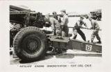 Artillery loading demonstration - Fort Ord, Calif.