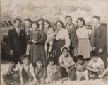 The Talaugons, Alpenias, and Dacayana Families and Their Children in La Conchita, CA.