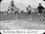 Running broad jump / Lee Passmore