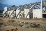 Construction of gymnasium, 1953