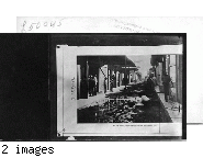 Bottle Alley Before Paving. [Text on picture: Bottle Alley, Colon, Before Paving, September, 1906]