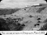 Pre-dedication of stadium May 1, 1935 / Lee Passmore