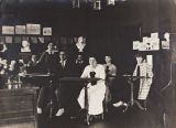 Freehand drawing class, 1915