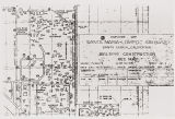 "Santa Maria, Lompoc Air Base building construction key map showing areas reserved for """"colored"""" troops : January 1943."