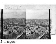 Jerusalem the city of David from Mount of Olives, Palestine.