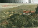 Postcard of Prune Orchard and Mountain Scenery Near San Jose, California