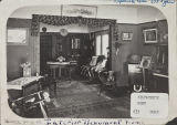 Interior of the Kilpatrick home, 633 Egan.