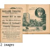 [Program from Oakland Theatre]